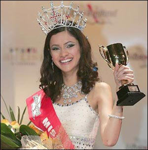 became the first ever Muslim girl to win the Miss England beauty contest in ...